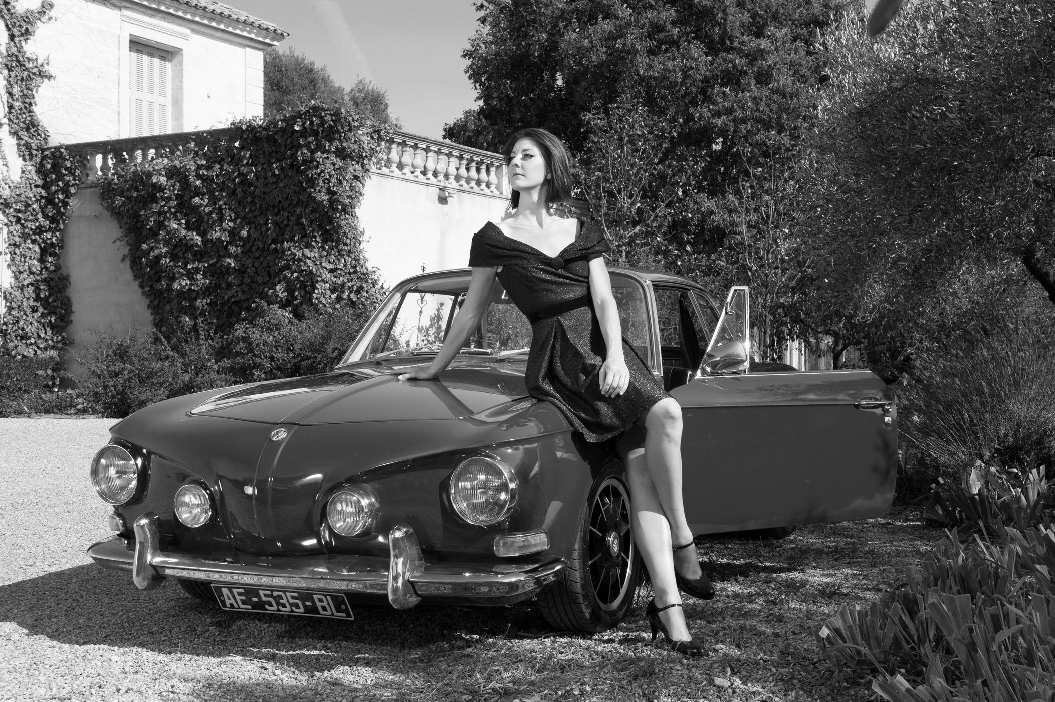 Caroline Bouvier - collection robes du soir - crédit photo : Vincent Lattuca