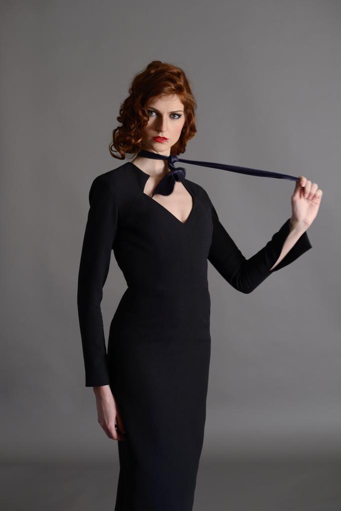 Caroline Bouvier - collection robes du soir - crédit photo : Mario Sinistaj