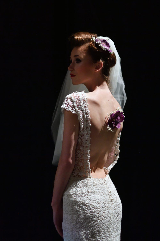 Caroline Bouvier - collection robes de mariée - crédit photo : Antoine De Parseval