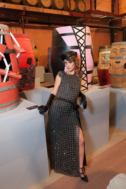 Caroline Bouvier - collection robes de soirée - crédit photo : Vincent Lattuca